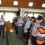 Вторая годовщина церкви Утрення Звезда в г. Хмельник